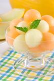 Bolas de melón fotos de archivo