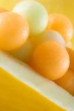 Bolas de melón imágenes de archivo libres de regalías