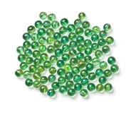 Bolas de mármore de vidro Fotografia de Stock