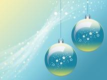 Bolas de Navidad Ilustración del Vector