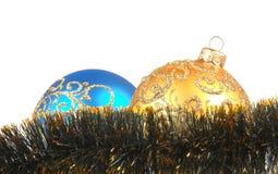 Bolas de Navidad Fotos de archivo libres de regalías