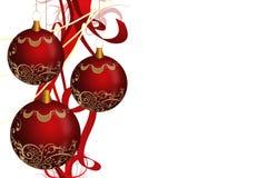 Bolas de Navidad Imagen de archivo libre de regalías