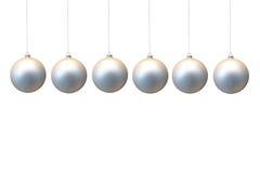 Bolas de Navidad Imágenes de archivo libres de regalías