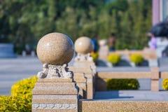 Bolas de pedra Fotografia de Stock