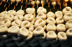 Bolas de peixes grelhadas Imagens de Stock
