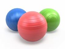 Bolas de Pilates Fotos de archivo libres de regalías