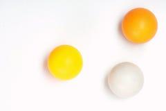 Bolas de ping-pong Fotografía de archivo libre de regalías