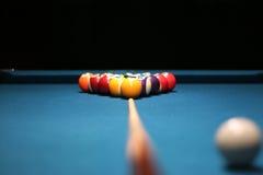 Bolas de piscina Fotografía de archivo