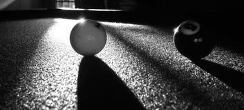Bolas de piscina clásicas fotos de archivo