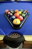 Bolas de piscina en el vector Imagen de archivo libre de regalías