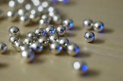 Bolas de plata 1 foto de archivo libre de regalías