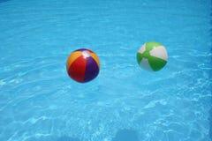 Bolas de playa Foto de archivo libre de regalías