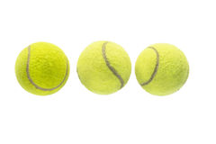 Bolas de tênis Foto de Stock