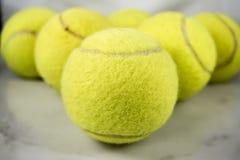 Bolas de tênis Imagens de Stock Royalty Free