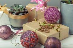 Bolas de Temari, una bola de la artesanía en estilo japonés tradicional Foto de archivo libre de regalías