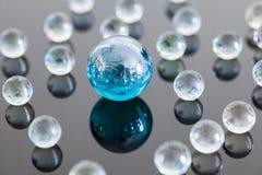 Bolas de vidro Foto de Stock Royalty Free