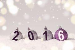 Bolas decorativas do Natal Imagem de Stock