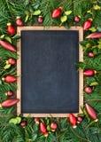 Bolas del árbol de navidad Imágenes de archivo libres de regalías