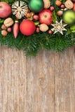 Bolas del árbol de navidad Foto de archivo libre de regalías