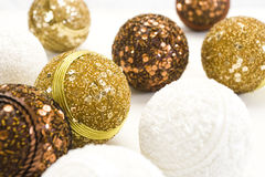 Bolas del Año Nuevo Imagen de archivo
