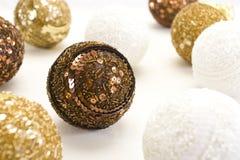Bolas del Año Nuevo Foto de archivo libre de regalías