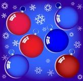Bolas del Año Nuevo. Fotografía de archivo libre de regalías