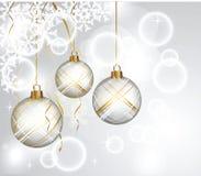 Bolas del Año Nuevo Imagen de archivo libre de regalías