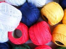 Bolas del algodón Fotografía de archivo