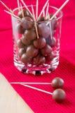 Bolas del chocolate imagen de archivo libre de regalías
