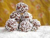 Bolas del coco Fotos de archivo libres de regalías