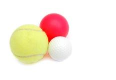 Bolas del deporte Fotografía de archivo libre de regalías