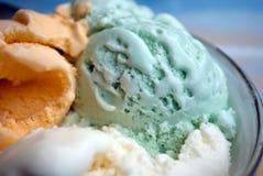 Bolas del helado foto de archivo