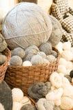 Bolas del hilado Imagen de archivo