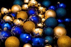 Bolas del juguete del Año Nuevo Imagen de archivo
