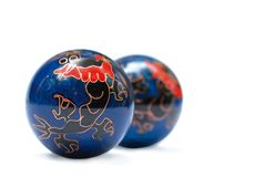 Bolas del zen Imágenes de archivo libres de regalías