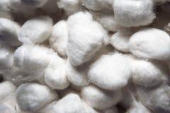 Bolas do algodão Fotografia de Stock