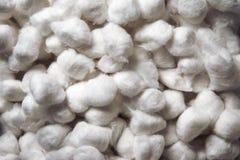 Bolas do algodão Imagens de Stock