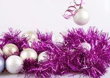 Bolas do ano novo Imagem de Stock