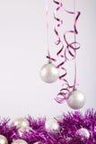 Bolas do ano novo Imagem de Stock Royalty Free