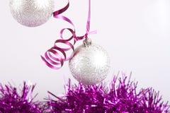 Bolas do ano novo Foto de Stock