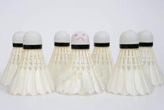 Bolas do badminton Imagens de Stock