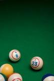 Bolas do Bingo Foto de Stock