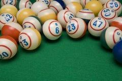 Bolas do Bingo Foto de Stock Royalty Free