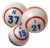 Bolas do Bingo Imagens de Stock