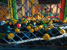 Bolas do centro 025 do jogo de crianças de CTCD fotos de stock
