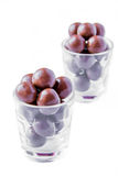 Bolas do chocolate fotografia de stock