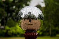 bolas do cromo 3D Imagem de Stock