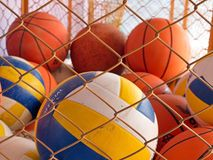 Bolas do esporte Fotos de Stock Royalty Free