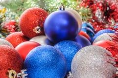 Bolas do Natal Fotografia de Stock Royalty Free