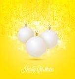 Bolas do Natal Imagem de Stock